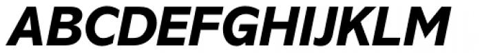 Abadi Pro ExtraBold Italic Font UPPERCASE