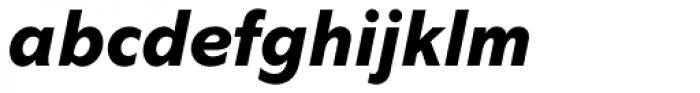 Abadi Pro ExtraBold Italic Font LOWERCASE