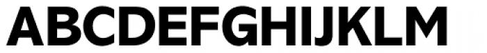 Abadi Pro ExtraBold Font UPPERCASE