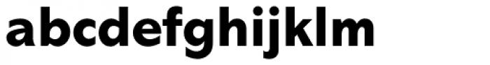Abadi Pro ExtraBold Font LOWERCASE