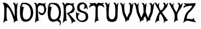 Abagail Jackson Font UPPERCASE
