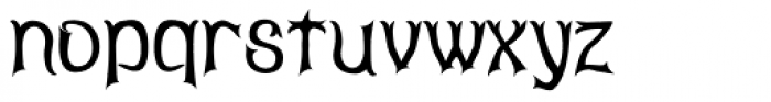 Abagail Jackson Font LOWERCASE