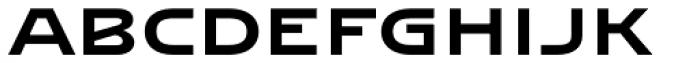 Abalda Font LOWERCASE