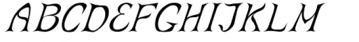 Abbatya Italic Font UPPERCASE