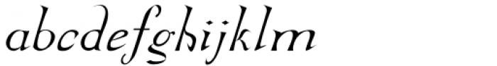 Abbatya Italic Font LOWERCASE