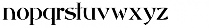 Abbey Road NF Font LOWERCASE