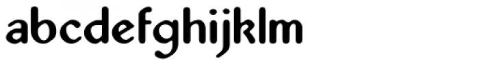 Abbey URW Regular Font LOWERCASE