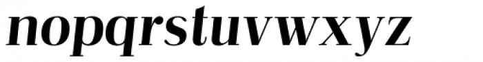 Abbiente Italic Font LOWERCASE