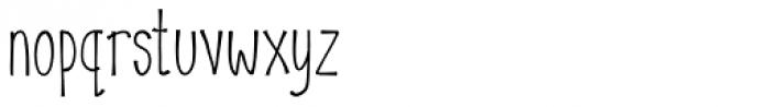Abbott Font LOWERCASE