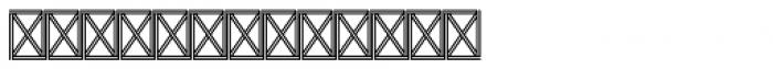 Abdo Stripss Font LOWERCASE