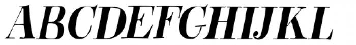 Abeille Italic Font UPPERCASE