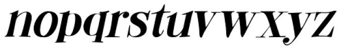 Abeille Italic Font LOWERCASE