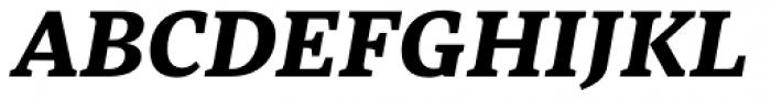 Abelard Extrabold Italic Font UPPERCASE