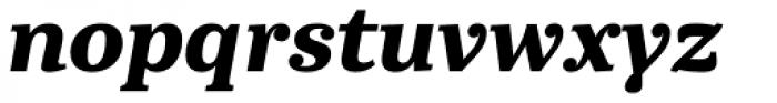 Abelard Extrabold Italic Font LOWERCASE