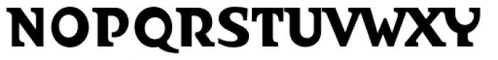 Abetka Cond Black Font UPPERCASE