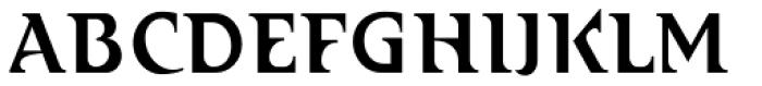 Abetka Cond Medium Font UPPERCASE