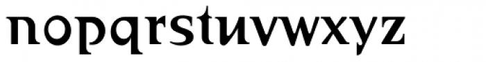 Abetka Cond Medium Font LOWERCASE
