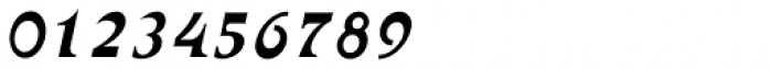 Abetka MF Italic Font OTHER CHARS