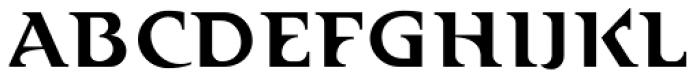Abetka Medium Font UPPERCASE