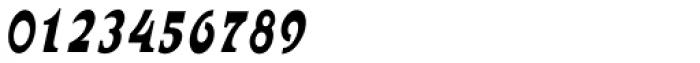 Abetka Narrow MF Bold Italic Font OTHER CHARS