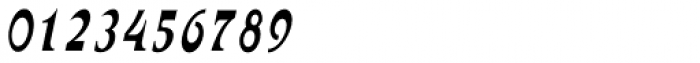 Abetka Narrow MF Italic Font OTHER CHARS
