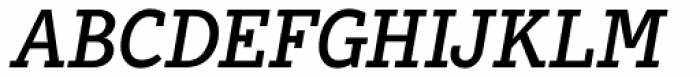 Abiding Italic Font UPPERCASE