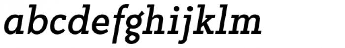 Abiding Italic Font LOWERCASE