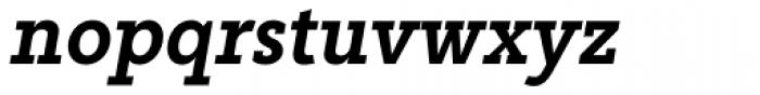 Abiding Medium Italic Font LOWERCASE