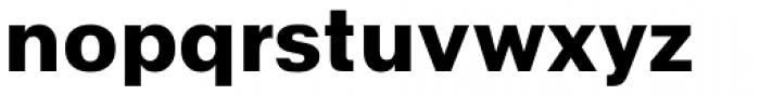 Abitare Sans 800 Font LOWERCASE