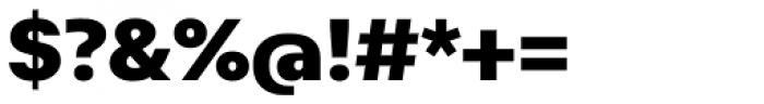 Abitare Sans 900 Font OTHER CHARS