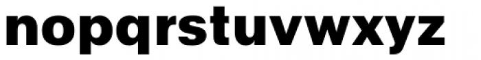 Abitare Sans 900 Font LOWERCASE
