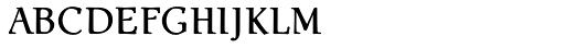 Ablati Small Caps Font LOWERCASE