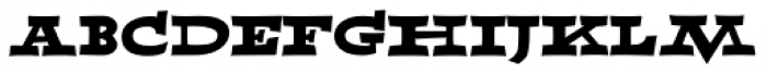 Able Outlaw Font LOWERCASE