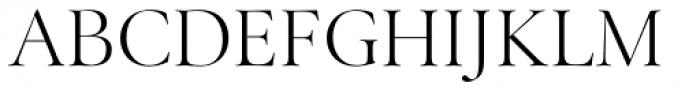 Above the Beyond Serif Regular Font UPPERCASE