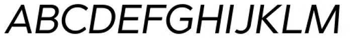 Abrade Italic Font UPPERCASE