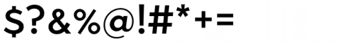 Abrade Medium Font OTHER CHARS