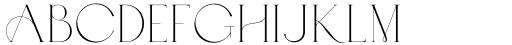 Abramo Serif Font UPPERCASE