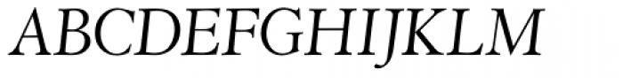 Abrams Venetian Italic Font UPPERCASE