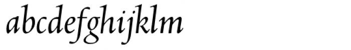 Abrams Venetian Italic Font LOWERCASE