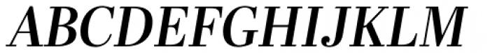 Abril Display SemiBold Italic Font UPPERCASE