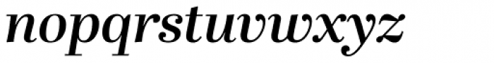 Abril Display SemiBold Italic Font LOWERCASE