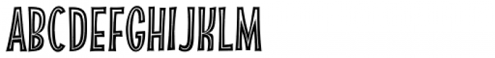 Absolutely Fabulous Inside Font LOWERCASE