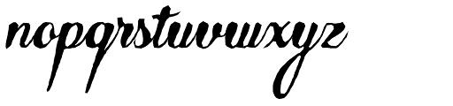 Abudabi Stone Font LOWERCASE