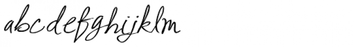 Abuelito Bold Font LOWERCASE