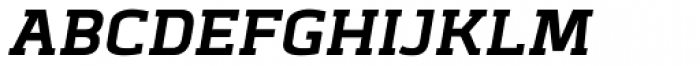 Abula Bold Italic Font UPPERCASE