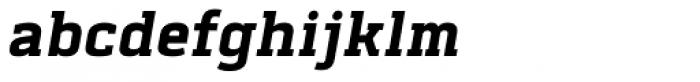 Abula Bold Italic Font LOWERCASE