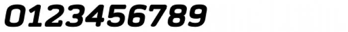 Abula Organic Black Italic Font OTHER CHARS