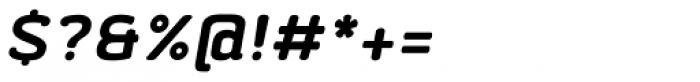 Abula Organic Bold Italic Font OTHER CHARS