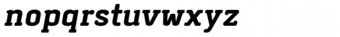 Abula Organic Bold Italic Font LOWERCASE