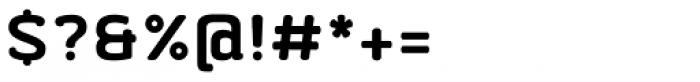 Abula Organic Bold Font OTHER CHARS
